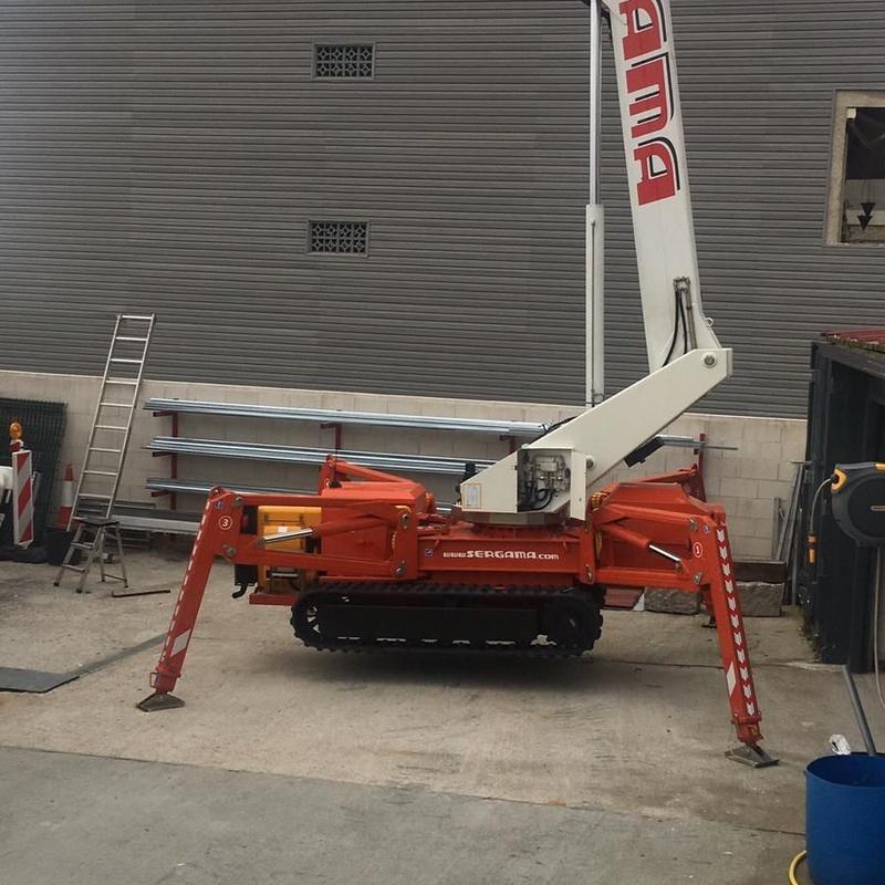 Plataforma araña de 30 metros: Nuestros Servicios de Sergama Reparaciones de Altura