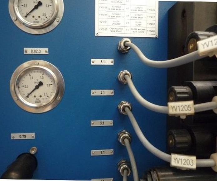 Señalización de componentes eléctricos: Rotulación y señalización de Marcajes Tellería