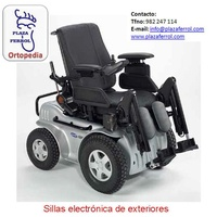 Silla de ruedas electrónica de exterior