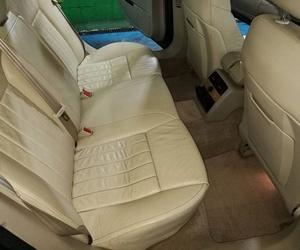 Lavado de tapicería de asientos de vehículos