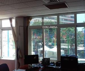 lamina efecto espejo en Malaga