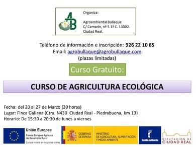 Curso gratuito Agricultura Ecológica