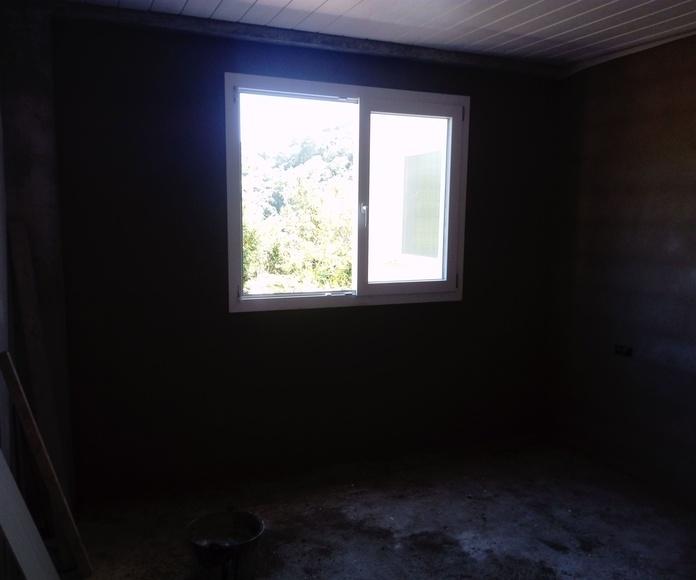 nuevo 32 metros cuadrados de  enlucido en casa nueva construccion