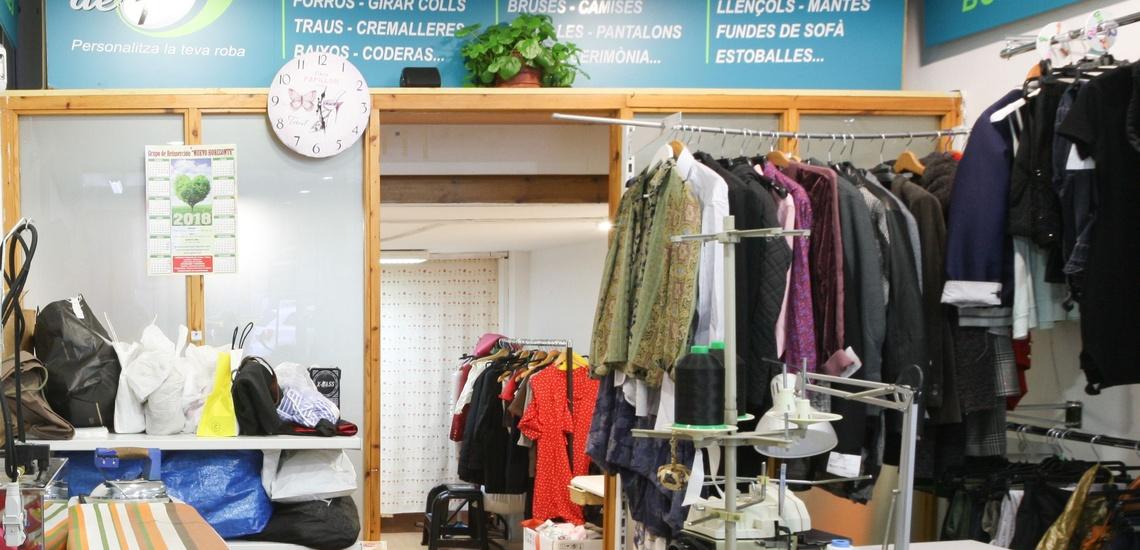 Tiendas de arreglos de ropa en l'Eixample (Barcelona) para vestir con diseños personalizados