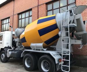 Fabricación de hormigonera sobre camión centro Madrid