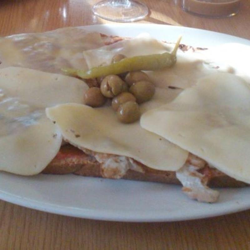 Pà amb oli: Nuestra carta de Restaurante Casa García's