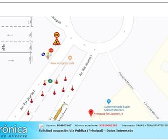 Grúas autocargantes y de gran tonelaje,logistica y distribución.: Productos y servicios de Grúas El Alicantí
