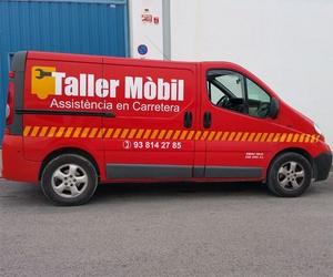 Taller móvil en Vilanova i la Geltrú