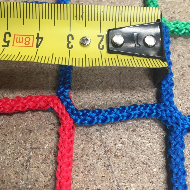 Red de nylon trenzado : Catálogo de Hinchables Happy Jump