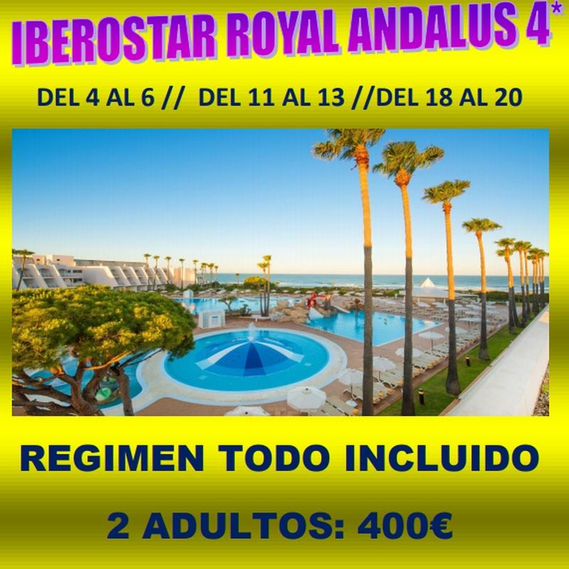 Iberostar Royal Andalus 4*: Ofertas de Viajes Global Sur