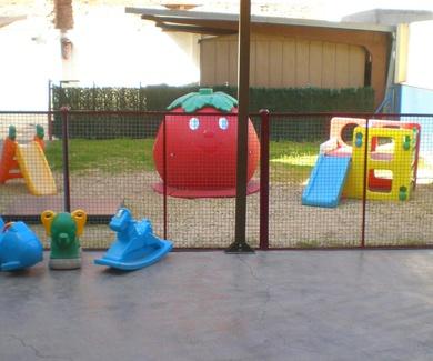 Disponemos de patio libre