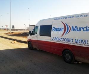 Ensayo de descargas parciales en Aeropuerto Juan de la Cierva
