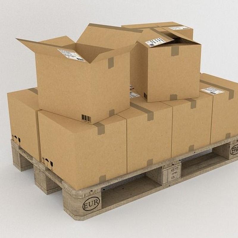 Cajas americanas: Servicios de Cajas Cartón Gipuzkoa - Cartoria
