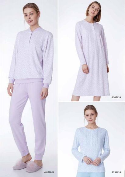 Pijamas y camisones: Catálogo de Los Alces Textiles