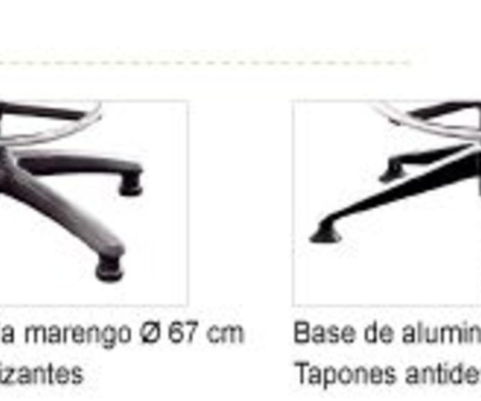 Bases y tapones Silla de Oficina IDONIA 100/110 Banqueta