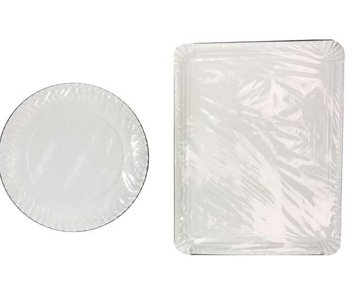 Platos y bandejas de cartón