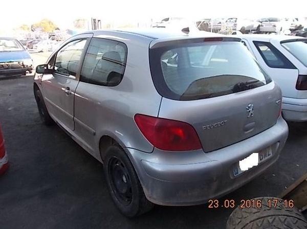 PEUGEOT 307 1.6 GASOLINA AÑO 2001: Catálogo de Desguace Valorización del Automóvil BCL, S.L.