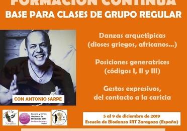 Danzas Arquetípicas y Posiciones Generatrices. Imparte Antonio Sarpe