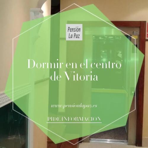 Pensión centro de Vitoria