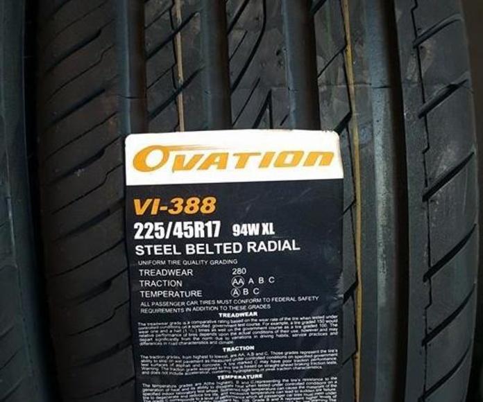 montaje neumáticos