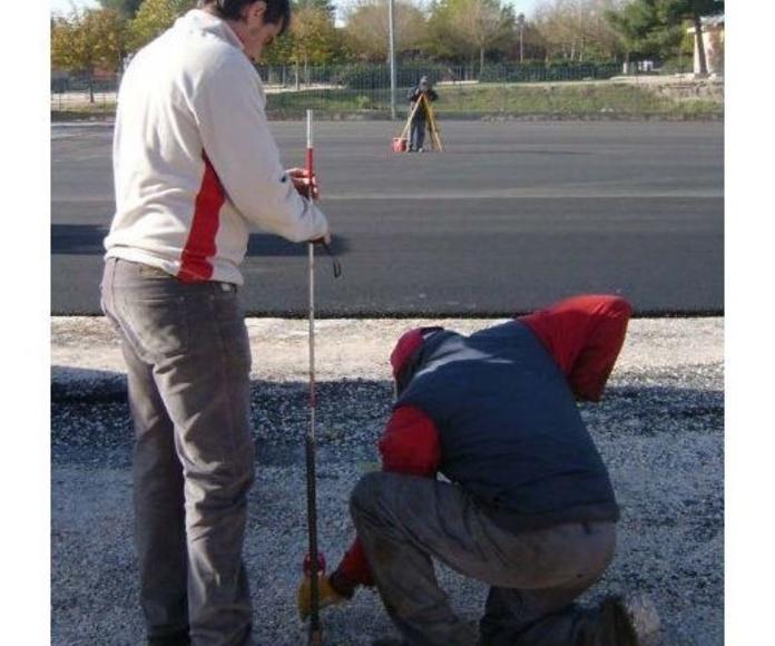 Proyectos: Nuestros Servicios de Técnicos en Firmes y Obras