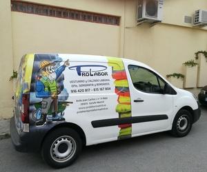 Venta de ropa laboral en Getafe
