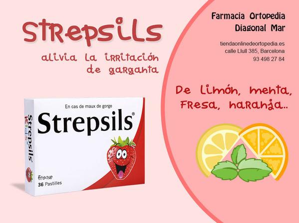 Strepsils barcelona