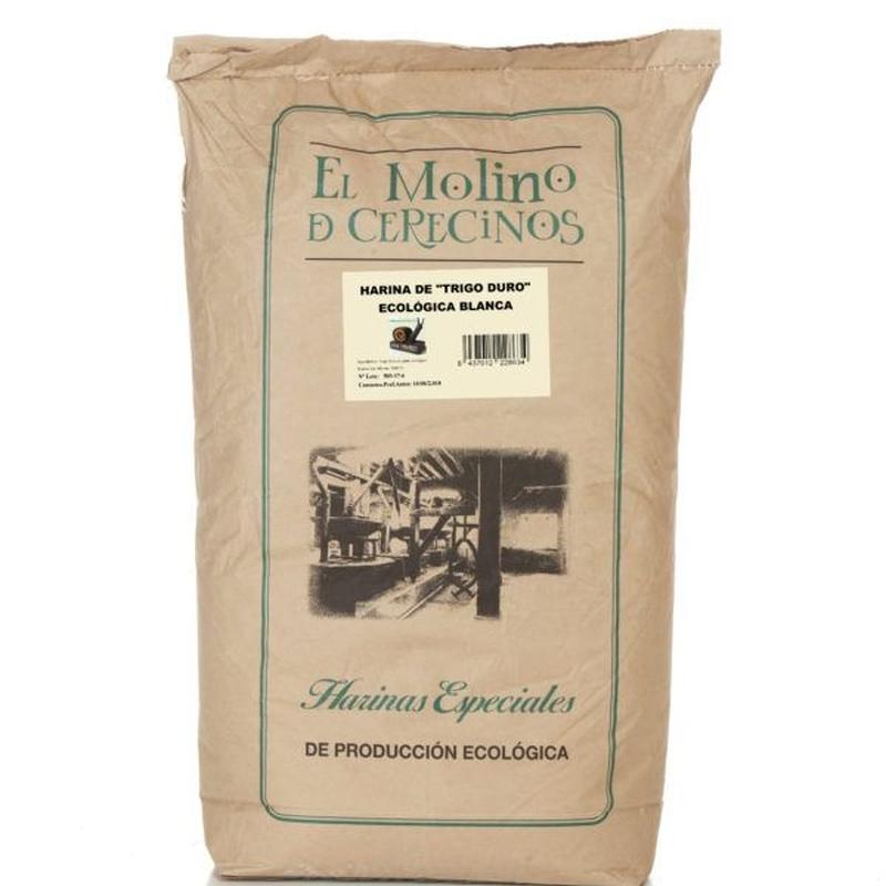 Harina de trigo duro ecológico 25 kg: Productos de Coperblanc Zamorana