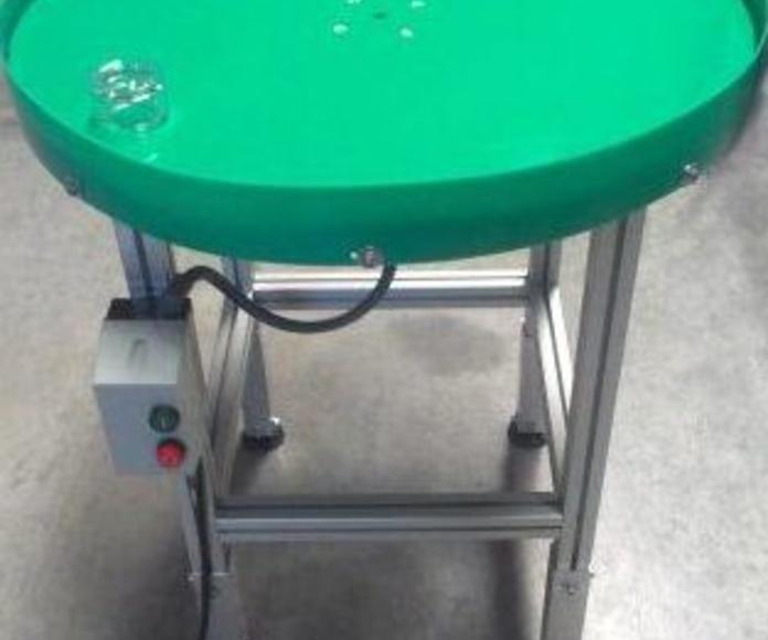 Mesa giratoria acumulador piezas T-MAP-1: Productos  de IBprint