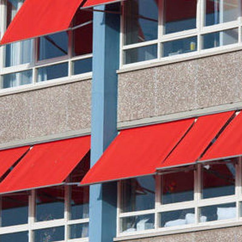 Toldos verticales : Instalación y fabricación  de Toldos Embajadores