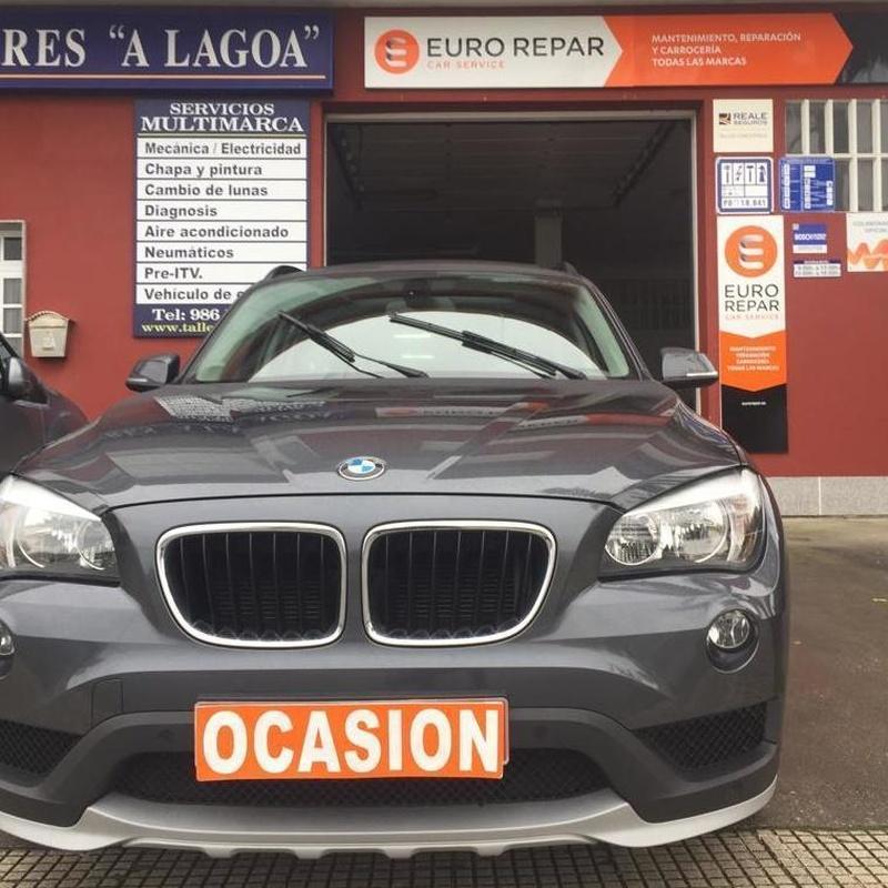 BMW X1 SDRIVE 18D 143CV:  de Ocasión A Lagoa
