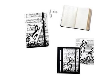 Set agenda + bolígrafo música