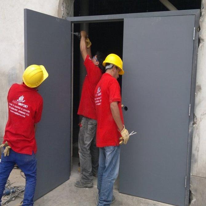 Las puertas cortafuegos
