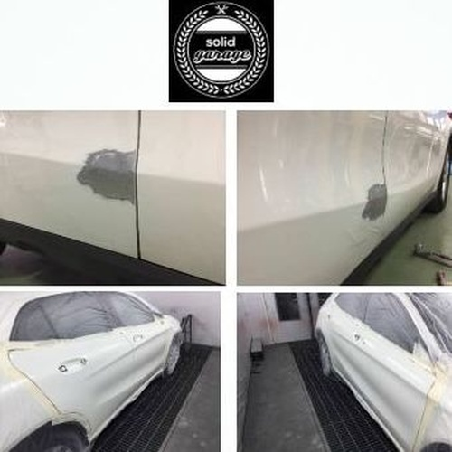 Por que para el dolor de bollar y rayar el coche nuevo solo hay una medicina, una buena reparación y un buen resultado final. Mercedes-Benz GLA.