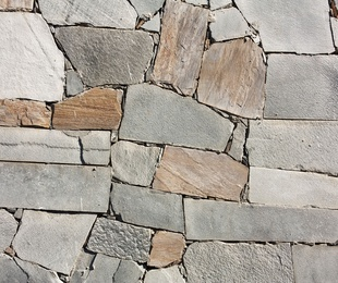 Chorreado de piedra. Rejuntado de piedra con maquinaria