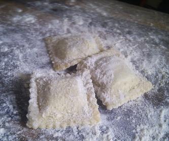 Ravioli frescos de espinacas, ricotta y parmiggiano: Nuestros productos de La Pastaia