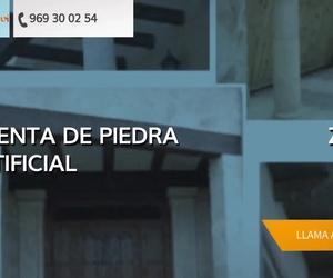 Piedra artificial para fachadas en Albacete | Cymavi