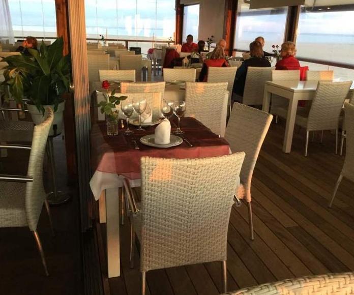 Restaurante recomendado en Isla Canela