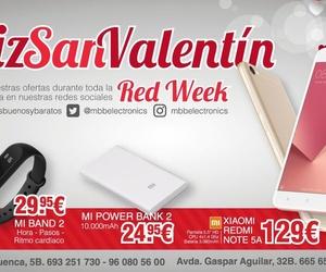 Feliz San Valentín. ¡Llega a Mbb la RedWeek!