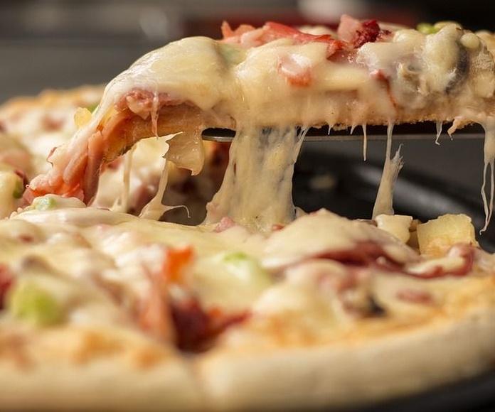 Pizzas: Carta de Restaurante Café Bar La Pampa