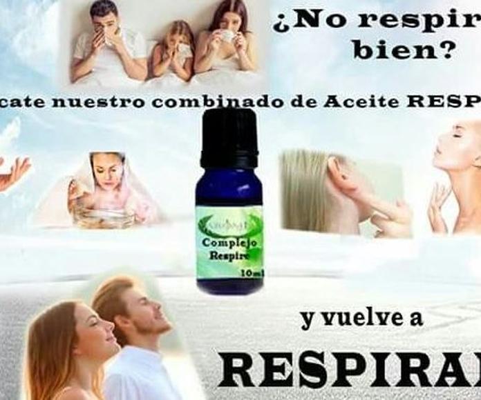 Aromia Respir: Productos de Arómia