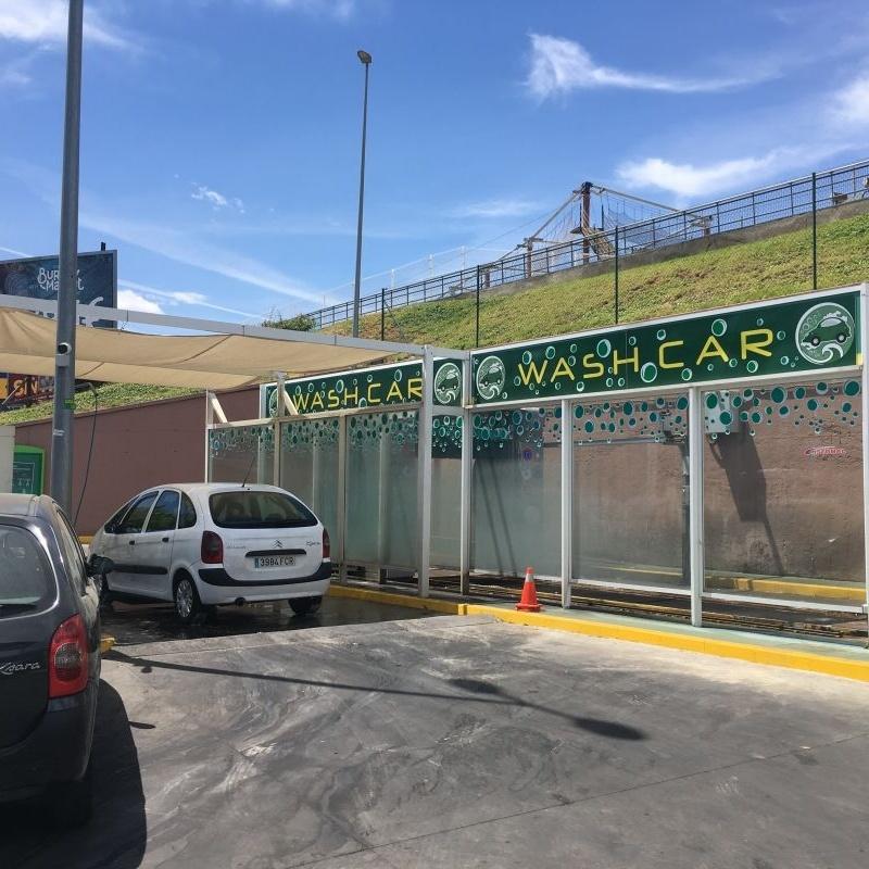 Túnel de lavado de vehículos: Servicios de Estación de servicio BP Bencir