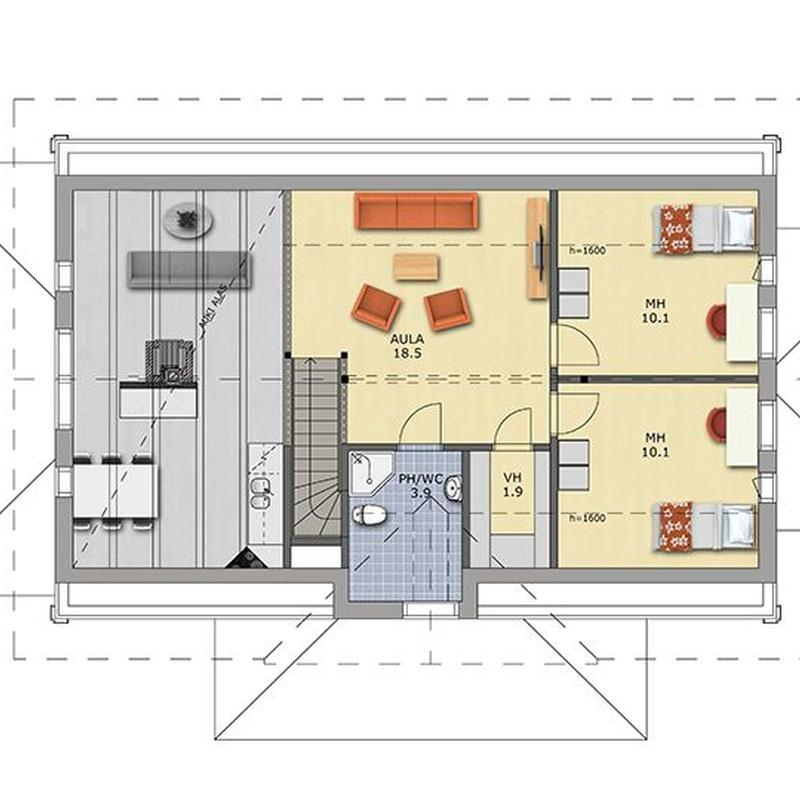 Casas de madera Taborno: CATALOGOS DE CASAS Y TERRENOS de Fundo y Madelar