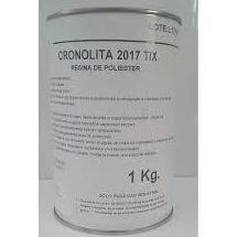 Cronolita 2017 Tix Activada de PLASTIFORM en almacén de pinturas en pueblo nuevo.