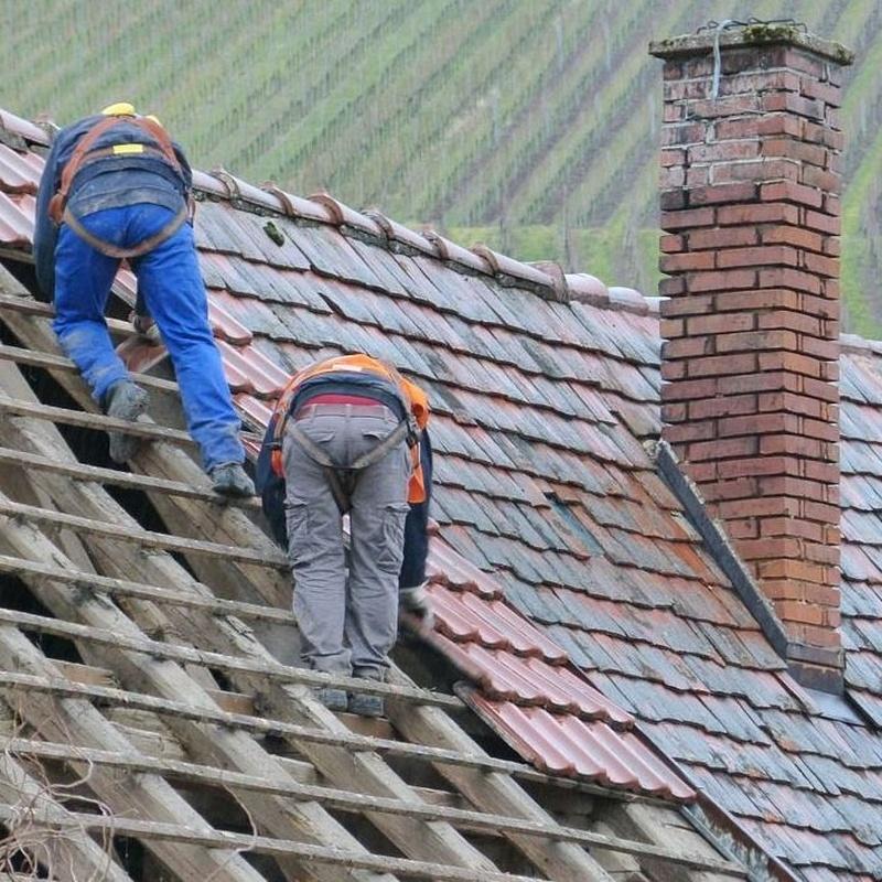 Impermeabilizaciones , cubiertas y tejados : Servicios de Aluminios y Reformas Pozo y Bueno