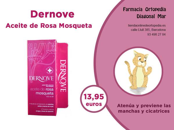 Dernove Aceite de Rosa Mosqueta
