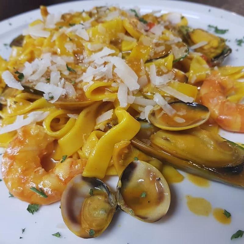 Pastas salteadas: Carta de Casa Gregorio Restaurante Típico Canario