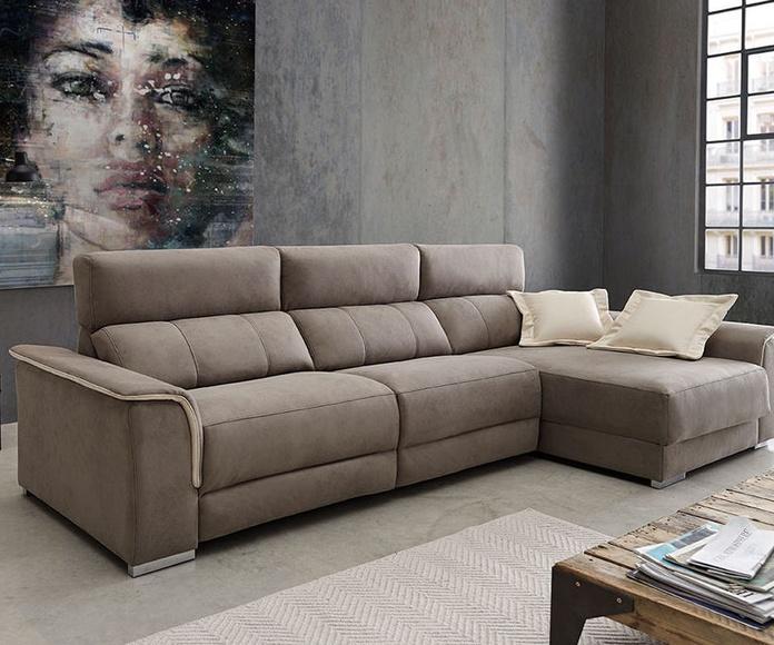 Comprar sofá con chaiselongue en Sagunto
