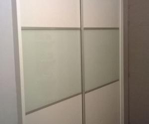 armario puertas correderas melamina/cristal lacado/melamina