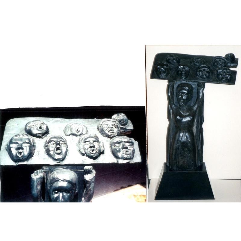 Góspel: Esculturas de Antonia Dávalos